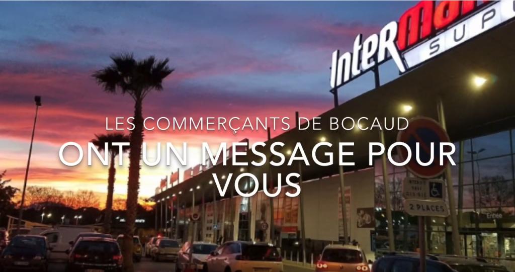 BOCAUD - Un message de vos commerçants